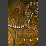 hagia sofia lights & ceiling